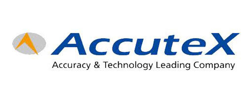 Logo der Firma AccuteX